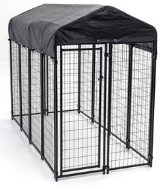 Features:  -Kit includes kennel, cover frame, waterproof cover.  -No tools needed.  -Perfect for decks or patios.  -Industry leading quality.  -Recognized by the American Kennel Club and ASPCA.  -Luck