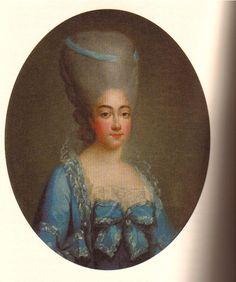 1776 Comtesse de Provence by Fredou posted to Le Boudoir de Marie-Antoinette Marie-Josephe de Savoie, Comtesse de Provence thread, page 1 by Lakme 3Jun10 (location unknown to gogm)