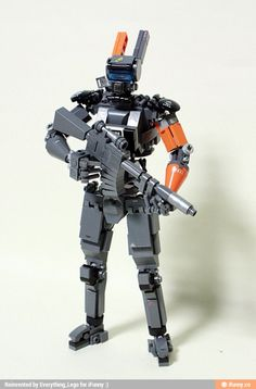 Lego chappie made by Simmon Kim