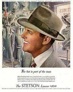 1949 ... Bob Cummings wears hat!
