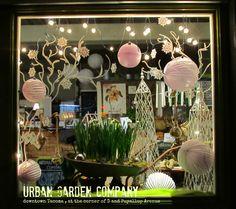 Urban Garden Company in downtown Tacoma window. www.thecreativegardener.com