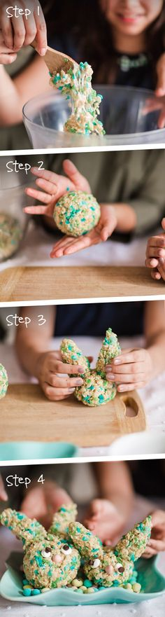 When spring showers rain down, head indoors to make these adorable, shaped treats. Try using Rice Krispies® Spring Edition cereal for a sprinkling of fresh colours.