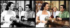 Cinema, Ruffle Blouse, Black And White, Movies, Greek, Women, Fashion, Movie Theater, Black White