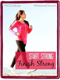 Go out with gusto! This is the last week of May's #FBGChallenge, so end strong, ladies and gents!   Fit Bottomed Girls