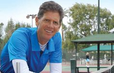 """Citizen Kern: Hank Pfister. Born into a family of tennis players, Hank Pfister picked up his racket early and never looked back. """"I really had no aspirations to be a professional tennis player,"""" Pfister said, laughing. """"When you find you're good at something, you tend to enjoy it—it was just something I had fun doing."""""""