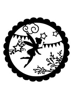 This is DIGITAL ITEM ONLY, YOU WILL NOT RECEIVE A PHYSICAL ITEM.  This is a fairy papercut template that has been designed by myself. There