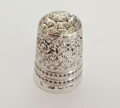 Silver-CH Charles Horner - Chester 1906 Thimble....