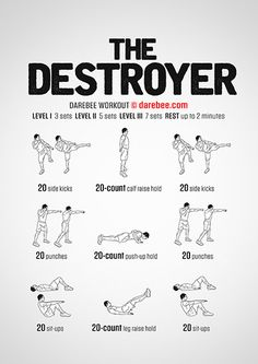 Destroyer Workout | Posted By: CustomWeightLossProgram.com