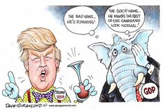 THE DONALD   Jun/17/15 Dave Granlund - Politicalcartoons.com - Trump 2016 -