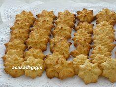 A casa da gigis: Biscoitos de Coco Feitos com o Dispara-Biscoitos