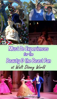 5 Must Do Experiences for the Beauty and the Beast Fan via /pixiedustsaving/