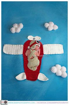 Prop Plane Blanket.   Picture Only. Need to purchase pattern