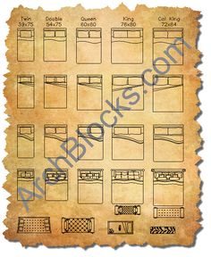 Autocad kitchen sink block symbols autocad pinterest for Bed elevation blocks