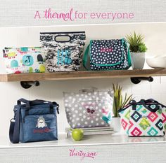 Thirty-One Gifts Thermals Summer 2017 Kristin Moses Thirty-One Consultant www.mythirtyone.com/kristinmoses #thermal #thermaltote #thirtyonegifts #summer #lunch #sahm #wahm #jointhirtyone #findaconsultant