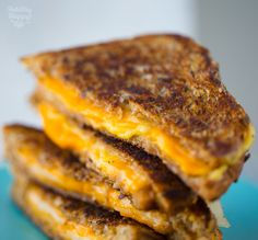 Grilled Cheese Sandwiches inspired by the movie Chef! Wrap Recipes, Milk Recipes, Vegan Recipes, Movie Chef, Grill Cheese Sandwich Recipes, Vegan Sandwiches, Cheese Toast, Vegan Grilling, Food Staples