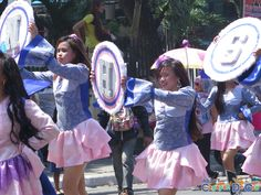 East Gusa National High School at Cagayan de Oro The Higalas Parade of Floats and Icons 2015 National High School, Sorority And Fraternity, Crowd, Take That, Icons, Activities, Cagayan De Oro, Symbols