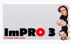 Diversión en ImPRO 3 con Jandro, Jesús Manzano y Miguel Moraga - http://www.valenciablog.com/diversion-en-impro-3-con-jandro-jesus-manzano-y-miguel-moraga/