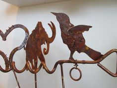 Metalwork for your garden or yard by Lucilla Anderson of Moses Lake, Washington!
