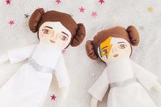This item is MADE TO ORDER, takes 1-2 weeks to be made :) ★★★ Please write in note to the seller your phone number ★★★  Princess Leia ★ A new space friend, anxious for adventures, a dreamer! Shes a star in herself! ♥ Choose yours with or without Bowies thunder ray.  The dolls are
