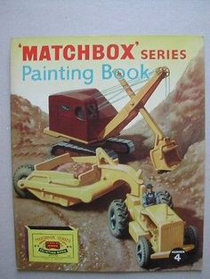 Matchbox Moko Lesney Painting Book Number 4
