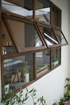 decorating my house House Window Design, Window Grill Design, House Design, Interior Windows, Cafe Interior, House Windows, Windows And Doors, Modern Windows, D House