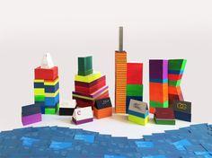 Farbschnitt Frankfurter Skyline!