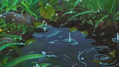 Rain Studio Ghibli Anime Scenery Arrietty Karigurashi No Arrietty Karigurashi No Arriettyedit Rain Animation, Animation Reference, Anime Gifs, Anime Art, Anime Disney, Arte 8 Bits, Photographie Indie, The Garden Of Words, Casa Anime