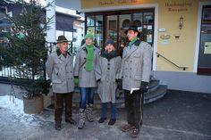 Sänger am Adventmarkt Advent