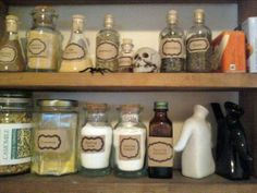This is what I want my spice cupboard to look like!    Another fantastic craftster make!