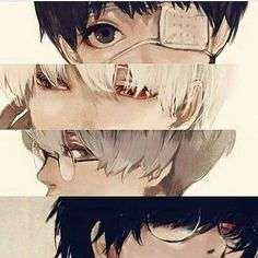 Ken Kaneki and Haise Sasaki Manga Anime, Film Anime, Art Anime, Manga Art, Anime Love, Anime Guys, Ken Kaneki Tokyo Ghoul, Anime Triste, Tamako Love Story