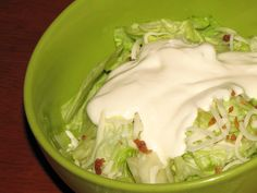 Creamy Garlic Dressing: Tastes just as great as the restaurant versions and is healthier.