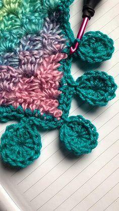 Ravelry: Lolliepops Edging Boarder Trim pattern by Victoria Mason