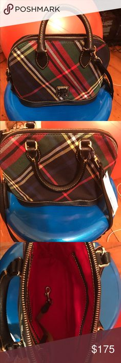 Dooney & Burke Tartan Plaid Bag brand New w/ Tags Brand new with tags. Beautiful bag that's flawless! Dooney & Bourke Bags Shoulder Bags