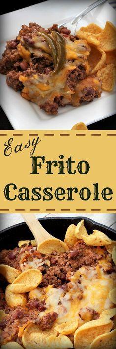Easy Frito Casserole , Recipe Treasures Blog