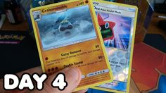 BOOSTER PACK EVERYDAY - Day 4 Opening Burning Shadows Booster Pack Daily Video, Pokemon, Deck, Packing, Videos, Shadows, Youtube, Bag Packaging, Darkness