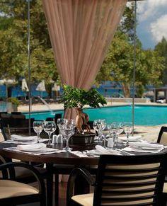 PORTO RIO HOTEL & CASINO, Peloponnese Rio Hotel, Curtains, Table Decorations, Furniture, Home Decor, Porto, Blinds, Decoration Home, Room Decor