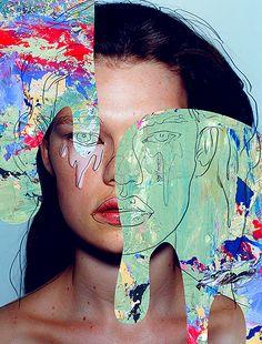 """Cry.""Kelly Mittendorf by Rikako Nagashima"
