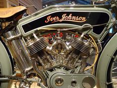 1915 Iver Johnson Motorcycle