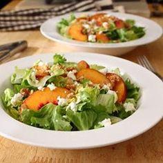 Peach and Escarole Salad - Allrecipes.com