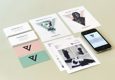 V Management by AKU , via Behance