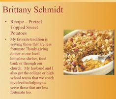 Looking for some great Thanksgiving Recipes?  See what the K12 International Academy teachers are dishing out!  For more about our teachers check out our website @ http://www.icademy.com/exceptional-teachers