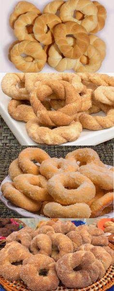 Donut Recipes, Cake Recipes, Dessert Recipes, Cooking Recipes, Portuguese Desserts, Portuguese Recipes, Croissants, Salty Foods, Finger Foods