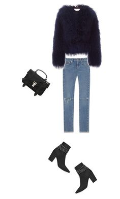 """Untitled #27"" by clment-picot on Polyvore featuring Yves Saint Laurent, Chloé and Proenza Schouler"