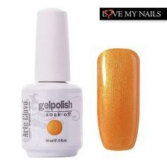 Long-lasting Cosmetic Gel Polish