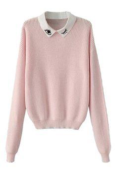 So cute! Cotton sweater