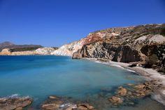 Firiplaka beach in Milos