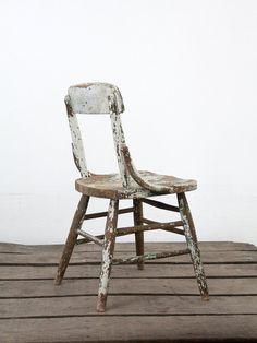 Antique Children's Chair / Primitive Kids Chair