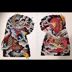 Disponivel para tatuar !!! #japanesetattoo #japanesedesign #ryu #dragon #tattoo #saopaulo #brasil