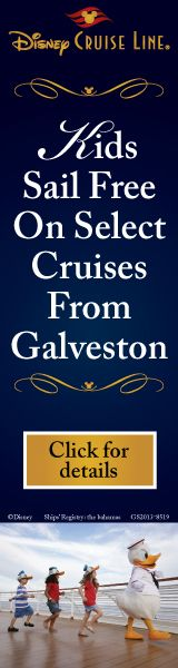 Offers on Disney Cruise Line are plentiful right now!  With Kids Sail Free from both Galveston and Miami in early 2013, as well as Onboard Credit specials and more for the fall - now is a great time to book your Disney Cruise!
