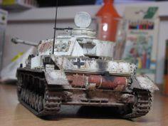 German Tank Model.